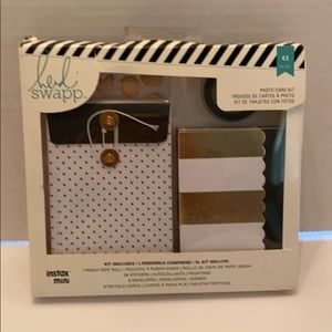 NEW! Heidi Swapp Instant Mini Photo Card Kit